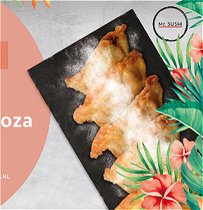 Foto NEW! Apple gyoza 4st.