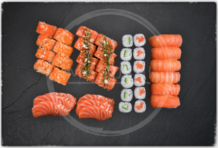 Foto Salmon Lovers Box