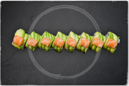 Foto Salmon Avocado Roll