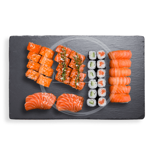 Foto Salmon Lovers Box, 40 st.